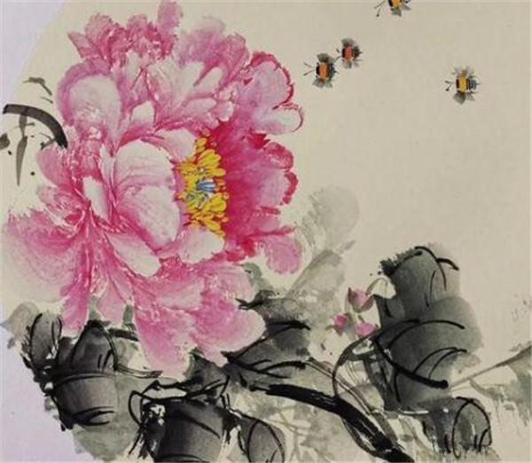 国画牡丹的寓意 国画牡丹花的画法步骤
